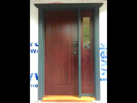 Woodworking Making A Entry Door