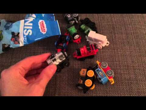 Thomas the Train Birthday Party + Unboxing