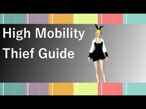 GW2 - High Mobility Thief Build Guide (2017)
