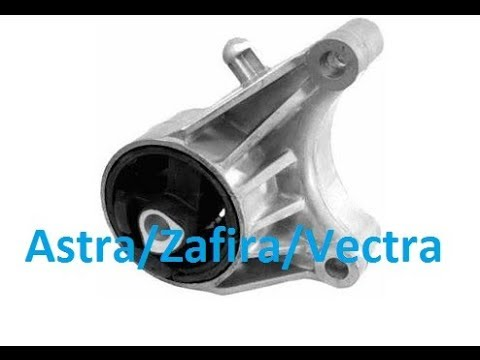 How to replace front engine mount/bush - Zafira, Astra, Vectra