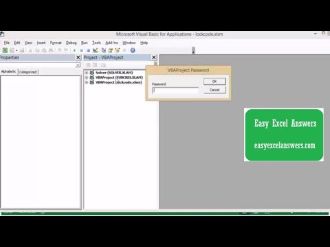 How to protect your VBA code in Excel