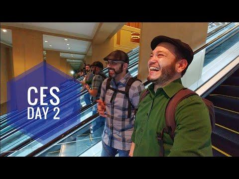 How we shoot videos for Newegg! #CES2018 Vlog 2