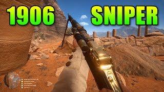 Selbstlader 1906 Sniper Review   Battlefield 1 Level 10 Gun