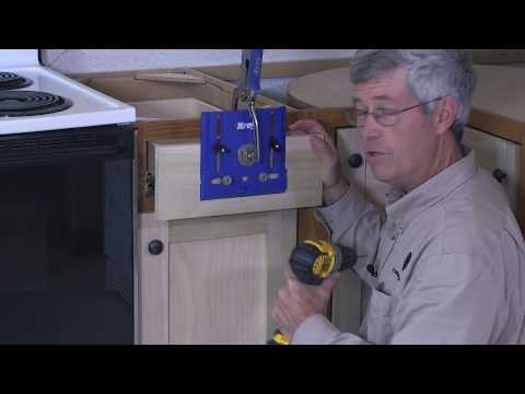 Kreg Kitchen Makeover Series Part 9: How To Dress Up Kitchen Cabinets with New Hardware