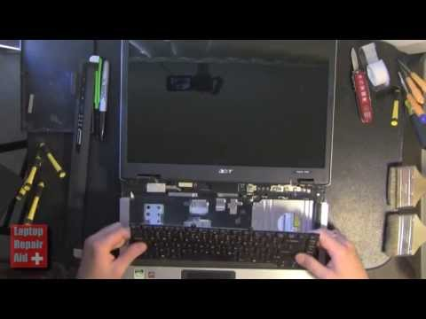 ACER ASPIRE 3100 KEYBOARD REMOVAL