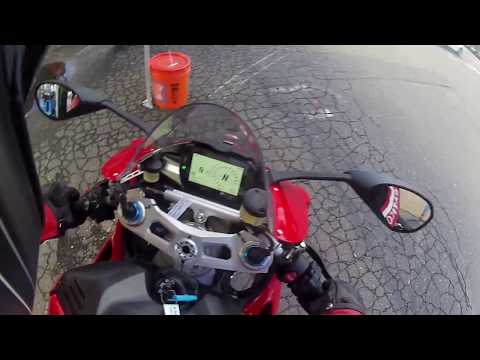 Test Ride of the new Ducati Panigale V4