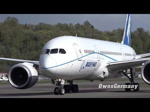 Testing Boeing 787-10 Rolls Royce Engines on a 787-8 Dreamliner