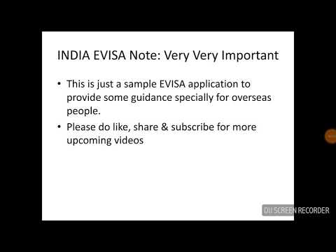 Evisa india made it very simple