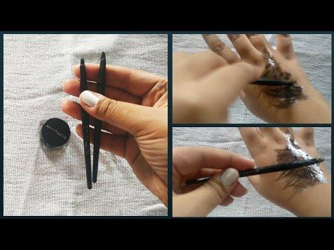 How to clean an Eyeliner Brush (DIY) \ Life Hacks for girls