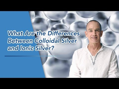 What Are the Differences Between Colloidal Silver and Ionic Silver?
