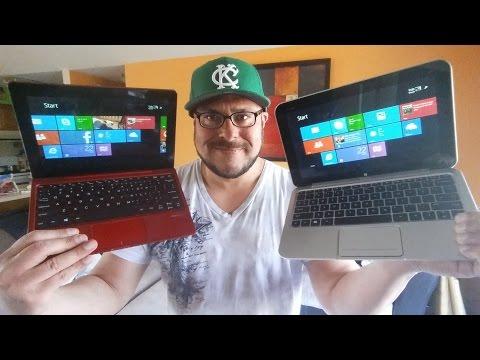 Nextbook 10.1 Vs HP Envy X2 ~ Windows 8.1 Tablets