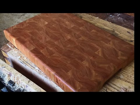 How to Make an End Grain Cutting Board, Part 1