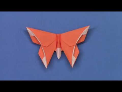 An Origami Butterfly for Bernie Peyton