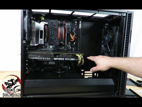 Further customizing the Fractal Design Define R6 Blackout TG case