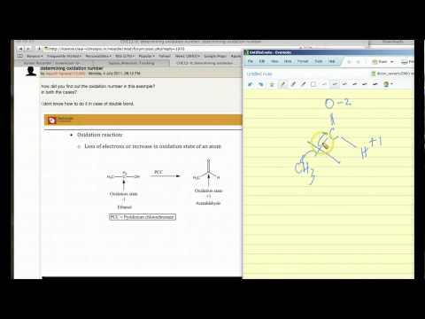 Oxidation State for Carbon in Acetaldehyde - Free IIT JEE Coaching Video