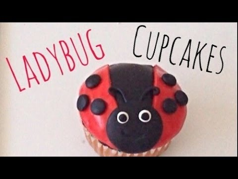 How to Make Ladybug Cupcakes   paolajem92