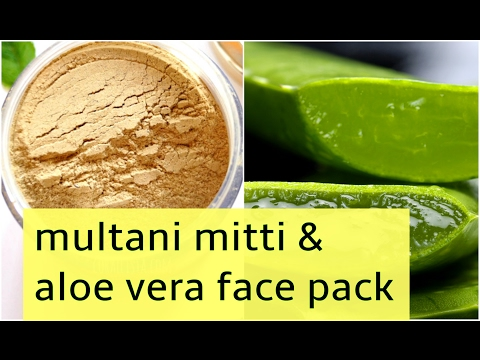 multani mitti face pack for oily skin with demo | get fair & glowing skin naturally