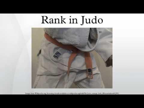 Rank in Judo