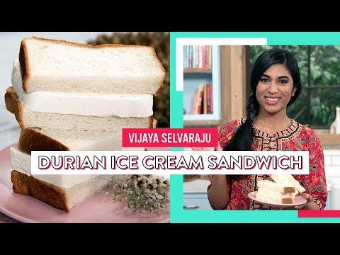 Durian Ice Cream Sandwich | Vijaya Selvaraju