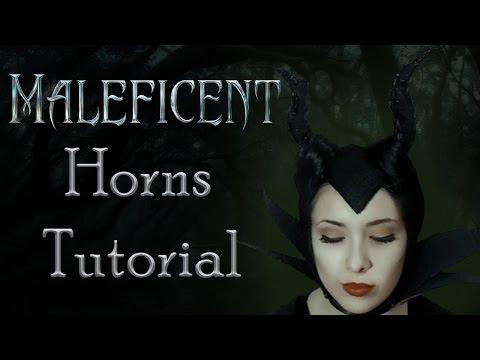 Maleficent Horns Tutorial