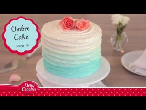 Blue Ombre Cake Recipe - Betty Crocker™