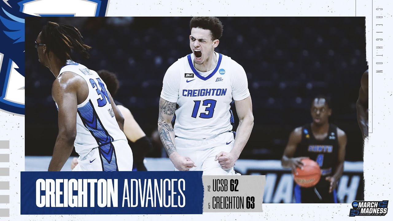 UCSB vs. Creighton - First Round NCAA tournament extended highlights