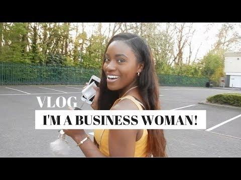 OFFICIALLY A BUSINESS WOMAN - VLOG 3   Starting a new business   Jade Vanriel