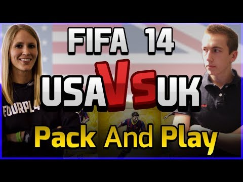 FIFA 14 ULTIMATE TEAM -USA VS UK -PACK AND PLAY - EP 5