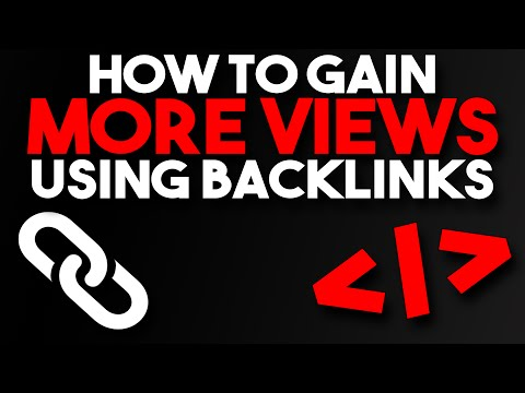 How to Use Social Media Backlinks to Gain More Views!