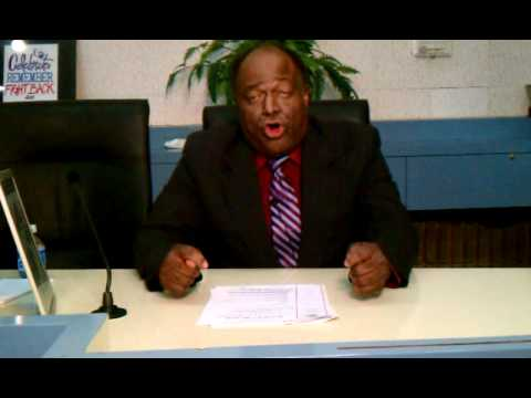 Mayor Masters speaks on White House Internship