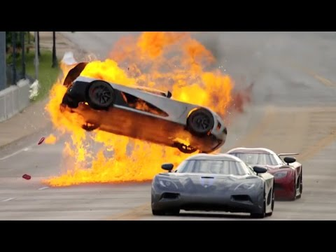 Top 10 Movie Car Crashes