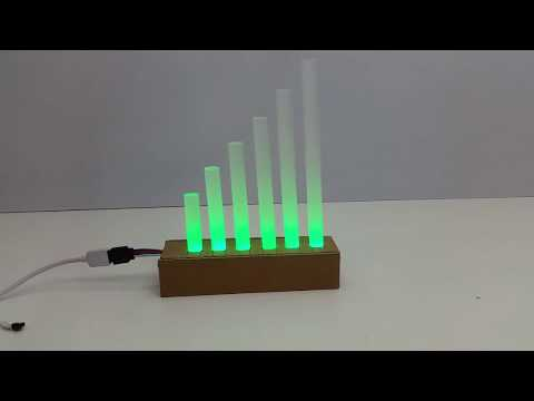 How to Make a WIFI LED Lamp from Glue Gun Sticks