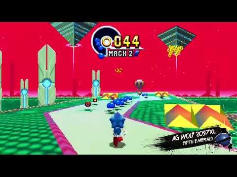 Sonic Mania - 5th Emerald