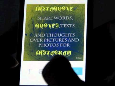 (ღ˘⌣˘ღ) ᖴᖇEE ᗩᑭᑭ - InstaQuote - Add Text, Quote,Word,Caption to Photo & Picture for Instagram Free