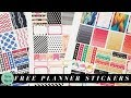 DIY FREE Planner Stickers