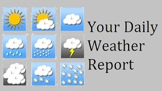 Your Daily Weather Report - Creepypasta