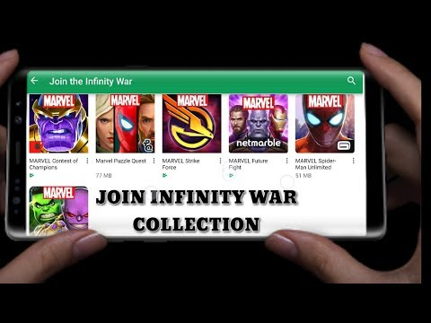 MARVEL AVENGERS INFINITY WAR | TOP GAMES | COLLECTION | GAMEPLAY