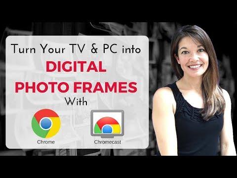 Turn Your Computer & TV into a Digital Photo Frame with Google Photos, Chrome, and Chromecast