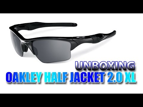 OAKLEY Half Jacket 2.0 XL - Unboxing & overview ((PT))