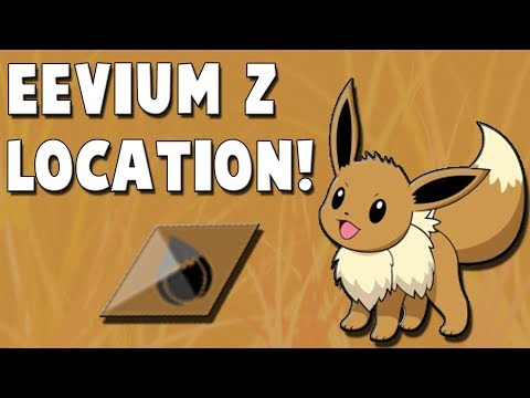 How to get Eevium Z in Pokemon Ultra Sun and Ultra Moon