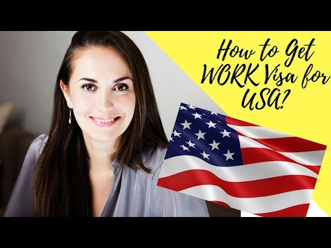 Q&A // How to get work visa for USA👀💯🇺🇸❤️