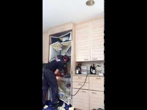 SubZero Refrigerator Removal