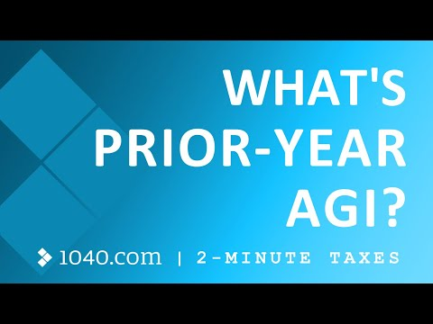 Prior Year AGI