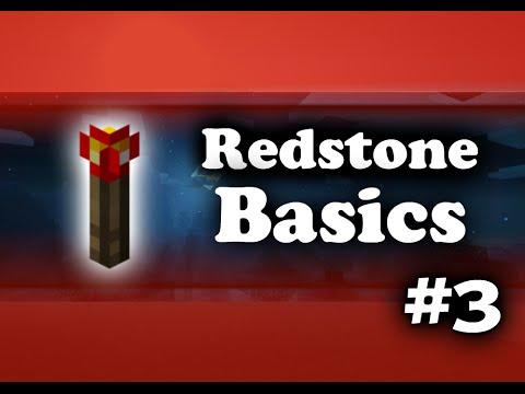 Minecraft PE Redstone Tutorials - #3 Logic gates! MCPE