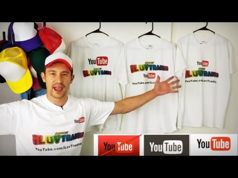 YouTube Custom Shirts with YOUR Channel LOGO! Best Pricing & Guidelines