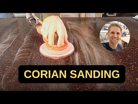 How-To: Corian Countertop Finishing and Polishing - Part 1