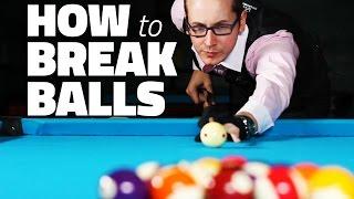 Billiards Tutorial: How to Break 8 Ball in Pool
