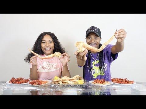 SEAFOOD BOIL MUKBANG!!!🔥 (SUPER FUNNY)