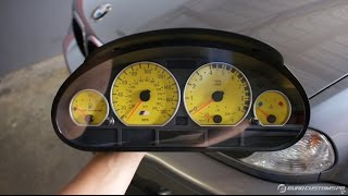 Changing The Color Of An E46 Cluster - With Overlays