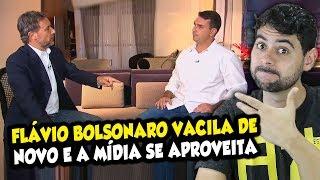 Flávio Bolsonaro VACILA DE NOVO e a mídia se aproveita